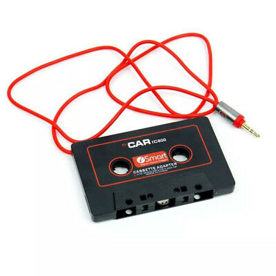 Cassette Car Adapter with 3.5mm Audio Cable for iPod iPhone MP3 AUX CD Player