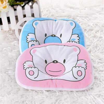 Bear Pattern Pillow Newborn Infant Baby Support Cushion Pad Prevent Flat Head HI