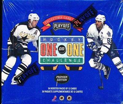 1995 Playoff One On One Hockey Sealed Booster Box Nhl