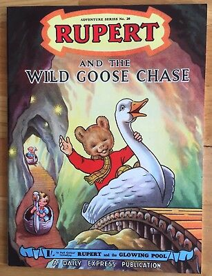 RUPERT Adventure Series 20 Wild Goose Chase April 1954 V FINE Ex-Shop Stock