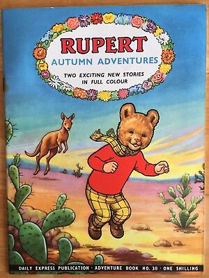 RUPERT Adventure Series 38 Autumn Adventures JULY 1958 FINE Ex-Shop Stock