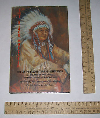 The BLACK MOCCASIN - Life On The BLACKFEET INDIAN RESER