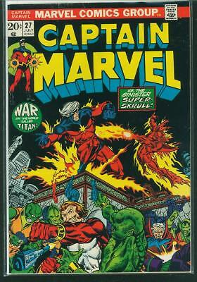 Captain Marvel #27 VG/FN