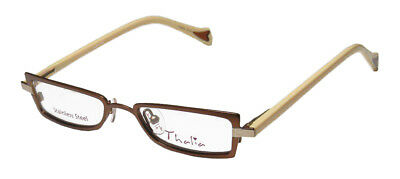 b9ba77f8e712 New Thalia Mariposa Stainless Steel Fancy For Kids Girls Eyeglass Frame/ Glasses