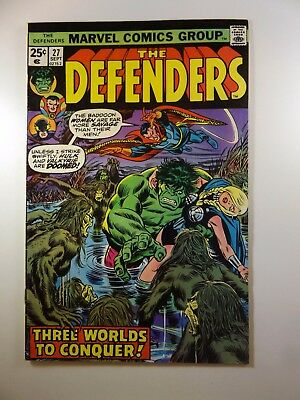 The Defenders #27 Guardians of the Galaxy Guest Star + Coming of Starhawk!! VG+!