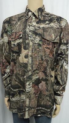 Men's Mixed Lot Of 4 Navy, Camouflage,camouflage Navy, Cream Vented Shirts Sz L