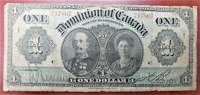 1911 $1 Dominion of Canada Various | Boville DC-18