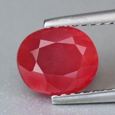RHODONIT  -  OVAL FACET  -  1,86 ct.