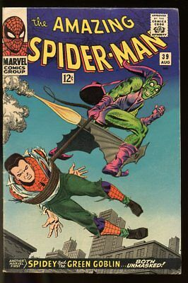 Amazing Spider-Man #39 Very Good- Green Goblin 1966 Marvel Comics