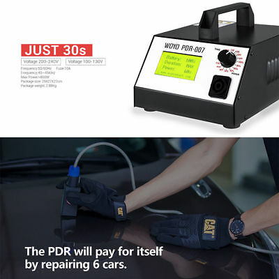 HotBox WOYO PDR007 Induction Heater for Removing Dents Sheet Metal Repair Tool