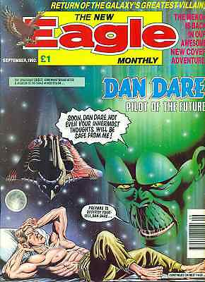 THE NEW EAGLE MONTHLY British comic book September 1992 VG+