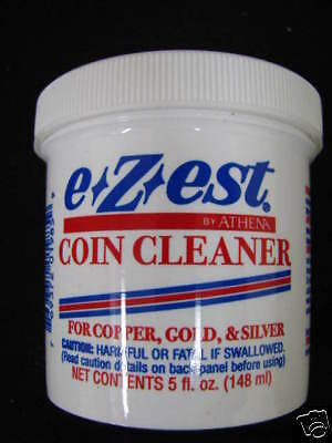E-ZEST Coin Cleaner 5oz. Copper,Gold & Silver