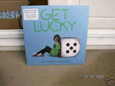 "New Young Pony Club - Get Lucky Pt.2 - 7"" Single Vinyl"