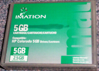 Imation 5 GB Data Tape Cartridge for HP Colorado 5 GB Drives-NR