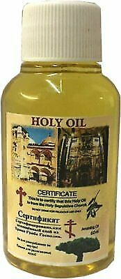 Jerusalem Holy Sepulchre Anointing Oil (60ml - 2 fl. oz)