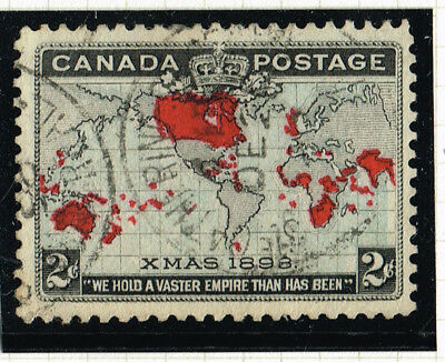 Canada 85 Catherine Street Quebec Early 1898 Son Cancel (Ocr18
