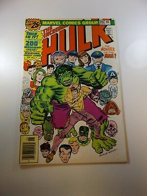 Incredible Hulk #200 FN/VF condition MVS intact Huge auction going on now!