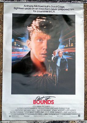 Out Of Bounds Original 1S One Sheet Movie Poster 1986 Anthony Michael Hall La