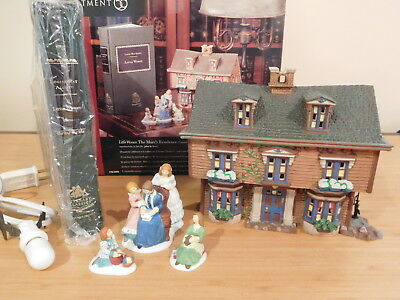 Dept 56 Dickens Village - Literary Classics - Little Women - The March Residence