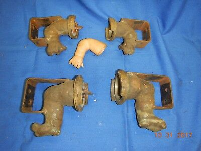 Classic Industrial Baby Doll Arms/legs Mold Copper Creepy Oddity Macabre Patina
