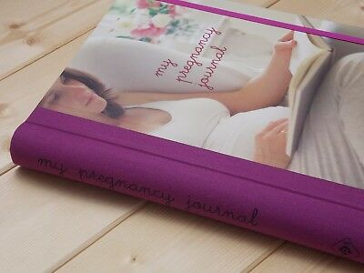 New Beautiful My Pregnancy Journal Organiser Memory Record Book Diary Ryland