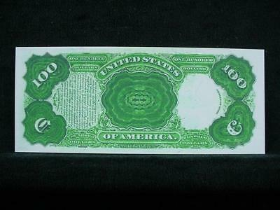 NobleSpirit NO RESERVE {3970} ABN Archive $100 Uniface Trial Proof On Card