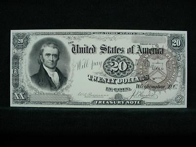 NobleSpirit NO RESERVE {3970} ABN Archive $20 Uniface Trial Proof On Card