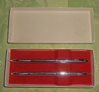 Vintage 1960's RCA Pen & Pencil Set-Esterbrook-Camden NJ-In Presentation Box-NR
