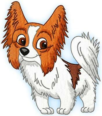 Cute Baby Papillion 10 Machine Embroidery Designs Cd 4 Sizes Included
