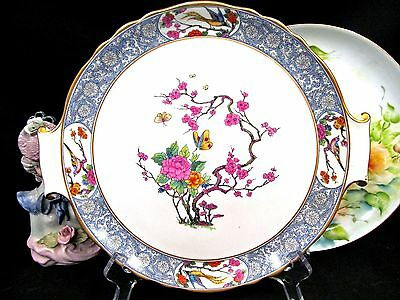 Lenox Platter Butterfly Floral Ming Pattern Plate Blossom Tree With Birds