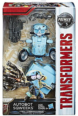 Transformers The Last Knight Deluxe Premier Edition Autobot Sqweeks Figure
