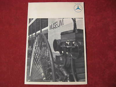 1962? Mercedes Benz Original Showroom Poster Dealership Salesman Brochure Old