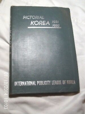 """PICTORIAL KOREA, 1951-1952, PACKED WITH GREAT PHOTOS, 10"""" x 7 1/2"""""""