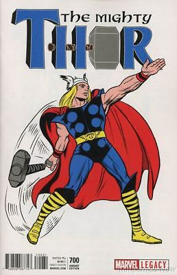 Mighty Thor #700 Kirby 1965 T-Shirt Variant Legacy Marvel Comics Death Pt 1!