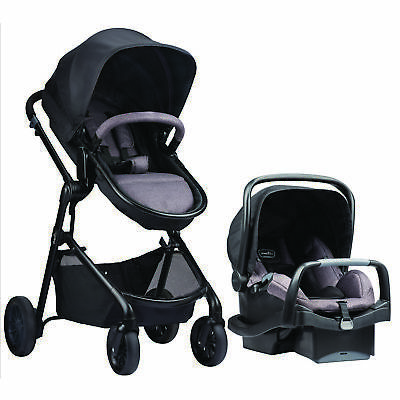 New Evenflo Pivot Modular Travel System with SafeMax Infant Car Seat - Casual