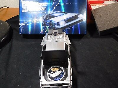 Tuvalu 2015 Back to the Future Silver Proof in Fully Functional DeLorean w/ COA