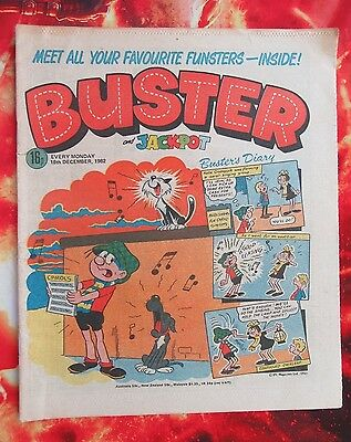 Buster And Jackpot Comic. 18 December 1982. Fn+