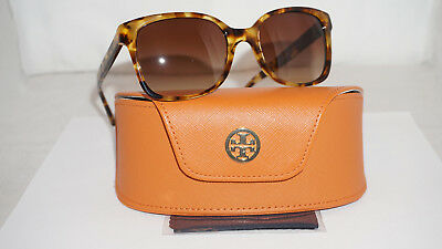 ebe0b6cad TORY BURCH New Sunglasses Tortoise Brown Polarized TY7103 1150/13 54 19 140