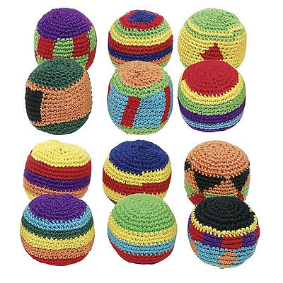 Grevinga® FUN Footbag - Bean Bag - Jonglierbälle | 24er Set 106237-01