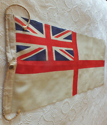 Dated 1941 WW2 British Royal Navy Vintage Union Jack Flag