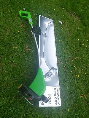 IKRA 450w Electric garden strimmer Glide sledge and roller