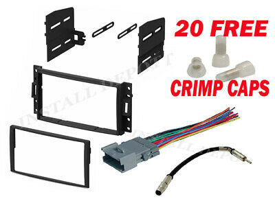 chevy gmc complete radio stereo install dash kit plus wire harnessgm chevy complete radio stereo install dash kit plus wire harness ant adapter