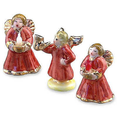 reutter porzellan angel figurines christmaschristmas angels dollhouse 112 - Christmas Angel Figurines