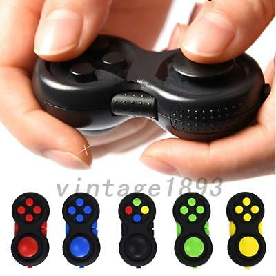 Fidget Hand Shank Pad Spinner ADHD Autism Anixety Stress Relieves Toy Fun
