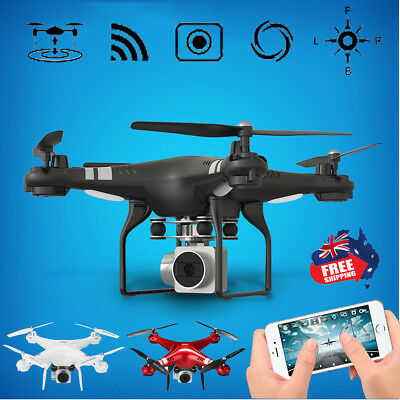 170° Wide Angle Lens HD Camera Video Quadcopter RC Drone WiFi FPV Altitude Hold