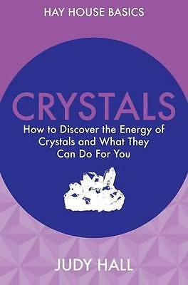 NEW Crystals by Judy Hall BOOK (Paperback) Free P&H