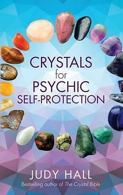 NEW Crystals For Psychic Self-Protection by Judy Hall BOOK (Paperback) Free P&H