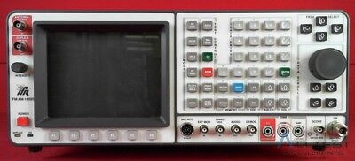 IFR 1600S / 1600 Communications Service Monitor FM/AM Communications Service Mon