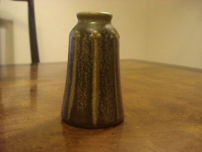 c. 1911 Rookwood, Arts and Crafts Matte Green Trefoil Vase