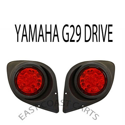 Yamaha G29 YDR Drive Golf Cart 2007-2016 Full LED Taillight Kit.